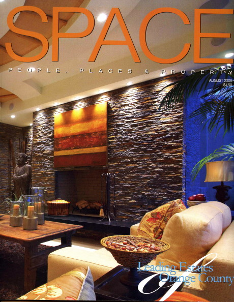 Christopher James Interiors featured on Cover of Space Magazine
